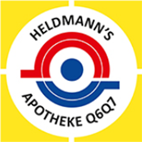Heldmann's Apotheke Q6 Q7 - Logo