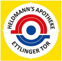 Heldmann's Apotheke Ettlinger Tor - Logo