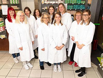 Team der Apotheke im E-Center, Kitzingen