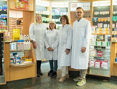 Team der Stadt-Apotheke am Marktplatz